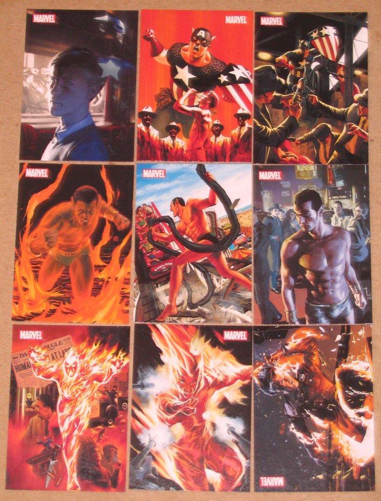70 Years of Marvel Comics (Rittenhouse 2010) Tribute Card Set NM