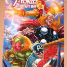 Avengers Kree-Skrull War (Upper Deck 2011) Cover Card Set EX