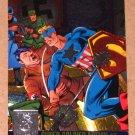 Amalgam (Fleer/SkyBox 1996) Power Blast Card #1- Super-Soldier Action #1 EX