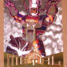 Marvel Metal (Fleer 1995) Silver Flasher Card #16- Galactus EX