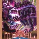 Marvel Metal (Fleer 1995) Silver Flasher Card #27- War Machine EX