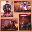 Captain America The First Avenger Movie (Upper Deck 2011) - Single Cards