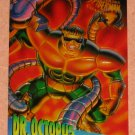 Spider-Man, Fleer Ultra (1995) ClearChrome Card #1- Dr. Octopus NM