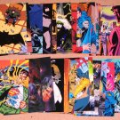 Batman Saga of the Dark Knight (SkyBox 1994) - Lot of 27 Cards EX
