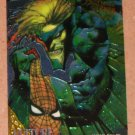 Spider-Man, Fleer Ultra (1995) Golden Web Card #9- Vulture EX