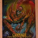 Spider-Man, Fleer Ultra (1995) Masterpieces Web Card #3- Carnage EX-MT
