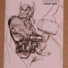 Thor Movie (Upper Deck 2011) Concept Series Card C3 EX