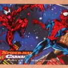 Spider-Man, the Amazing (Fleer 1994) Card #98- Spider-Man vs. Carnage EX