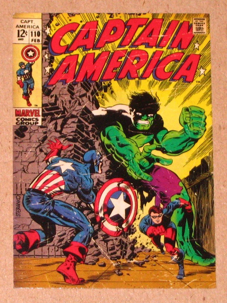 Captain America The First Avenger Movie (Upper Deck 2011) Comic Covers Card C-4 VG