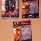 Captain America The First Avenger Movie (Upper Deck 2011) - Near Card Set 97/99 EX