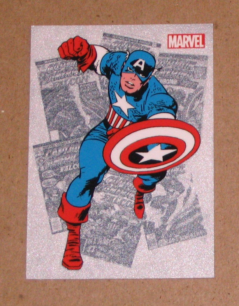 Marvel Bronze Age (Rittenhouse 2012) Classic Heroes Card CH1 - Captain America EX