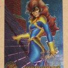 X-Men All Chromium, Fleer Ultra 1995 - Gold-foil Signature Card #28- Shadowcat VG