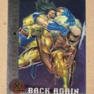 X-Men All Chromium, Fleer Ultra 1995 - Gold-foil Signature Card #89- Back Again EX