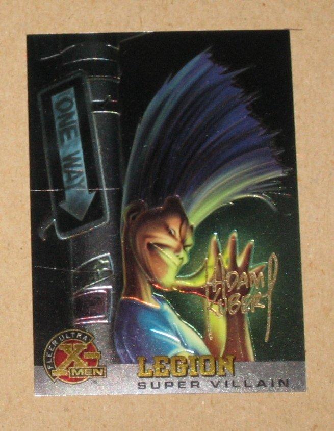 X-Men All Chromium, Fleer Ultra 1995 - Gold-foil Signature Card #68- Legion EX