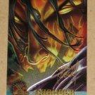 X-Men All Chromium, Fleer Ultra 1995 - Gold-foil Signature Card #30- Chamber EX