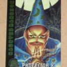 X-Men All Chromium, Fleer Ultra 1995 - Gold-foil Signature Card #95- Professor X EX-MT