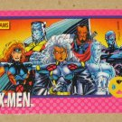 X-Men Series 1 (Impel 1992) Card #71- X-Men VG