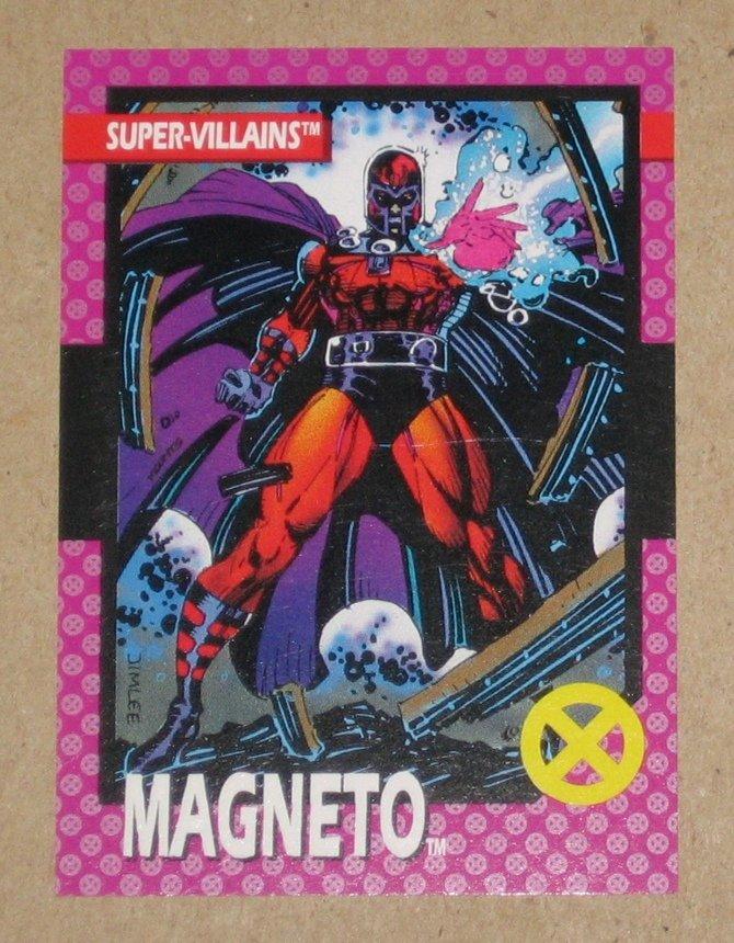 X-Men Series 1 (Impel 1992) Card #41- Magneto VG