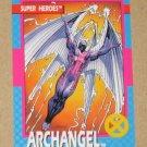 X-Men Series 1 (Impel 1992) Card #20- Archangel VG