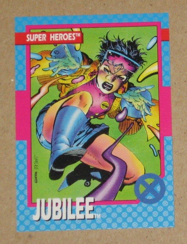 X-Men Series 1 (Impel 1992) Card #29- Jubilee EX