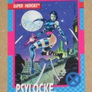 X-Men Series 1 (Impel 1992) Card #12- Psylocke EX