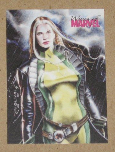 Women of Marvel (Rittenhouse 2008) Promo Card P1 EX
