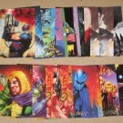DC Villains Dark Judgment (SkyBox 1995) - Lot of 28 Cards VG/G