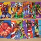 Marvel Vision (Fleer/SkyBox 1996) - Lot of 29 Cards EX