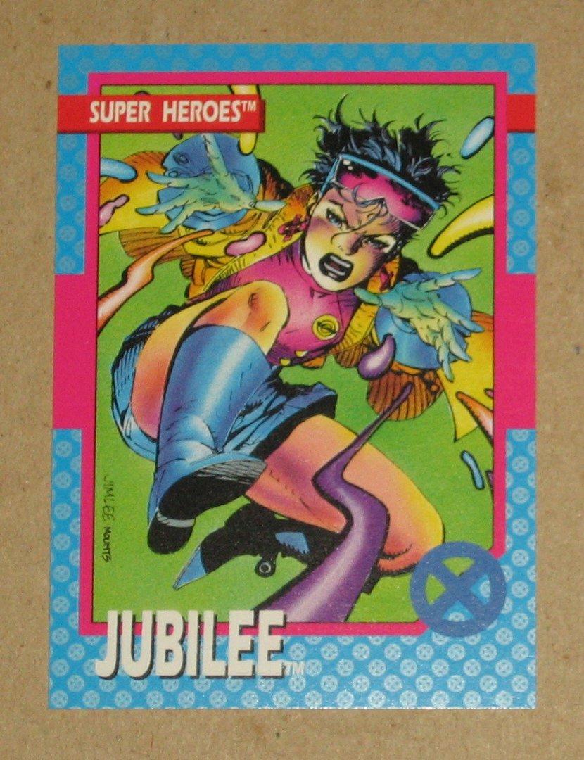 X-Men Series 1 (Impel 1992) Card #29- Jubilee EX-MT