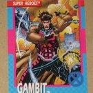 X-Men Series 1 (Impel 1992) Card #18- Gambit NM
