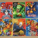 Marvel Vision (Fleer/SkyBox 1996) - Single Cards