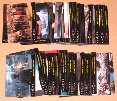 Heroes Volume 2 (Topps 2008) - Lot of 71 Cards EX