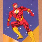 DC Stars (SkyBox 1994) Puzzle Card P2- Flash VG
