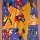 DC Stars (SkyBox 1994) Puzzle Card Set EX