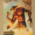 Spider-Man, Fleer Ultra (1995) Gold Foil Signature Card #69- Jackal VG