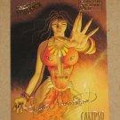Spider-Man, Fleer Ultra (1995) Gold Foil Signature Card #10- Calypso EX