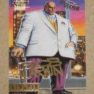 Spider-Man, Fleer Ultra (1995) Gold Foil Signature Card #76- Kingpin EX