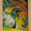 Spider-Man, Fleer Ultra (1995) ClearChrome Card #5- Lizard EX
