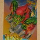 Spider-Man, Fleer Ultra (1995) ClearChrome Card #2- Green Goblin NM