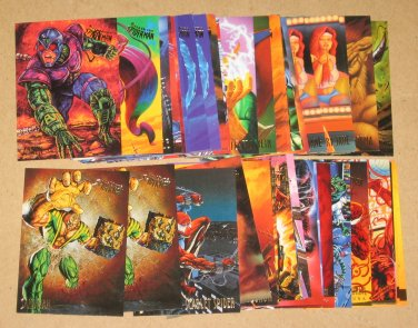 Spider-Man, Fleer Ultra (1995) - Lot of 43 Cards EX
