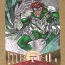 Marvel Metal (Fleer 1995) Silver Flasher Card #81- Vulture VG