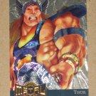 Marvel Metal (Fleer 1995) Gold Blaster Card #15- Thor EX