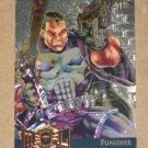 Marvel Metal (Fleer 1995) Gold Blaster Card #9- Punisher EX