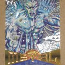 Marvel Metal (Fleer 1995) Silver Flasher Card #96- Iceman EX