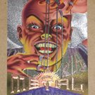 Marvel Metal (Fleer 1995) Silver Flasher Card #38- Puppet Master EX