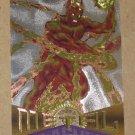 Marvel Metal (Fleer 1995) Silver Flasher Card #32- Human Torch EX
