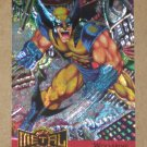 Marvel Metal (Fleer 1995) Metal Blaster Card #18- Wolverine EX-MT