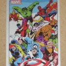 70 Years of Marvel Comics (Rittenhouse 2010) Metalic Ink Parallel Card #47- Secret Wars 1984 EX