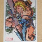 70 Years of Marvel Comics (Rittenhouse 2010) Metalic Ink Parallel Card #60- Ka-Zar 1997 EX