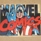 70 Years of Marvel Comics (Rittenhouse 2010) Die-cut Card C1- Captain America EX